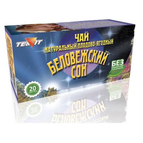 Чай напиток Беловежский сон, 20 пак. (Тиавит)
