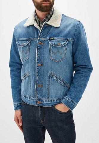 WRANGLER / Куртка джинсовая утепленная