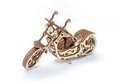 Мотоцикл Крузер (Cruiser) (EWA) - Деревянный конструктор, сборная модель, 3D пазл