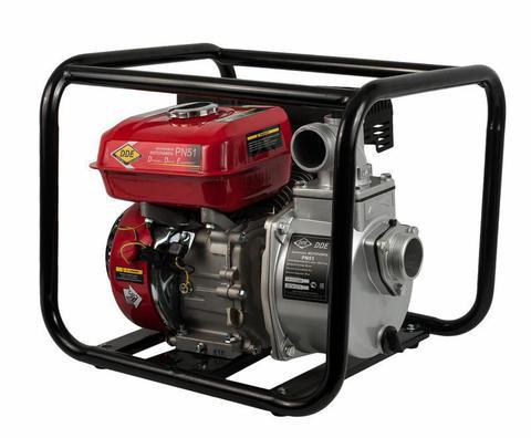 Мотопомпа бензиновая DDE PN51 (вых 50мм 5.5 лc,,25 м куб/час, т. бак3,6л,24кг) (PN51)