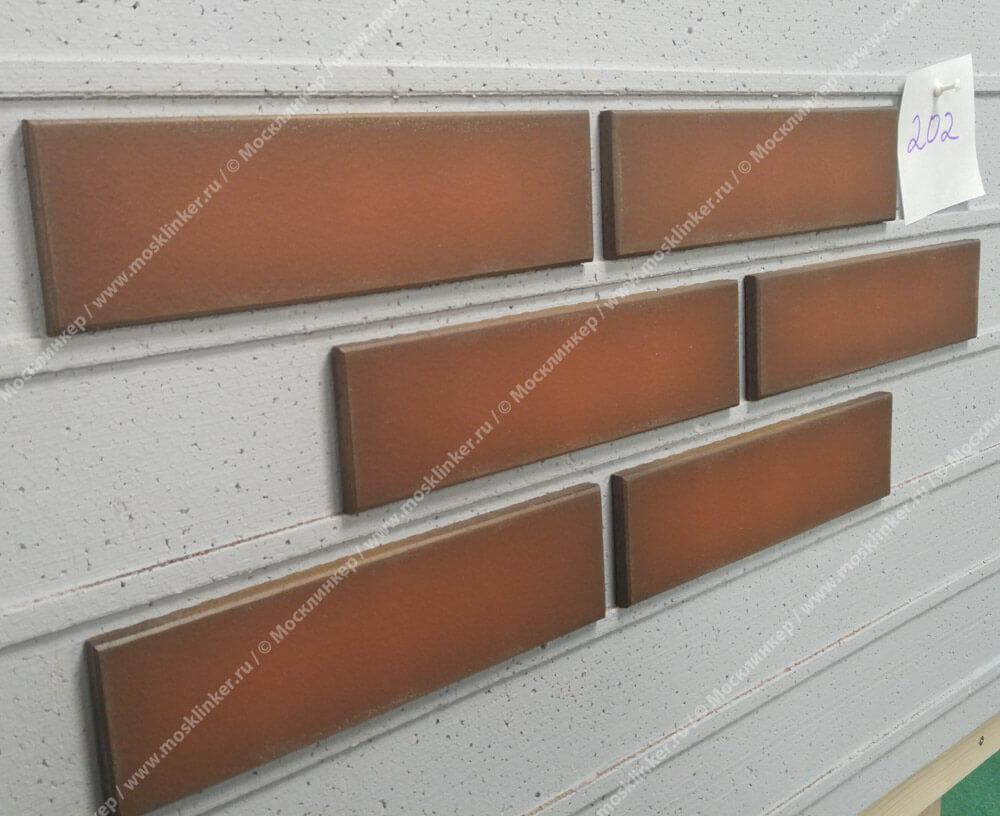 King Klinker - Ruby flame (19), Dream House, 65x250x10, RF - Клинкерная плитка для фасада и внутренней отделки