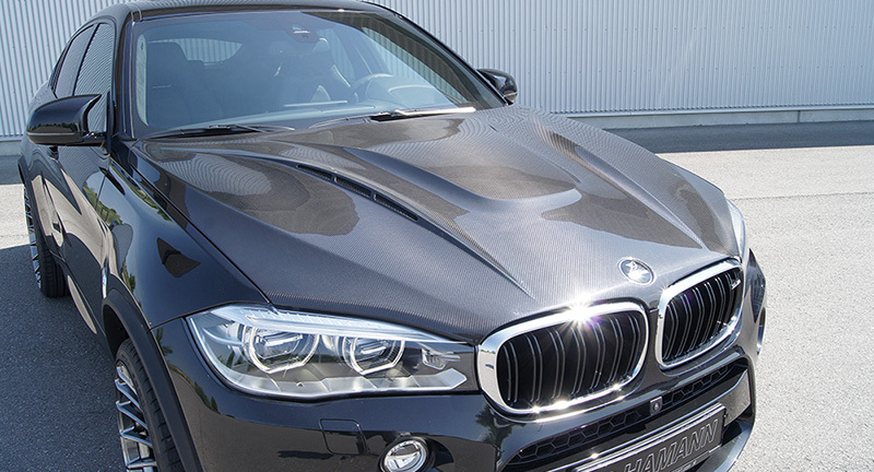 Карбоновый Капот Variant 1 Hamman Style для BMW X5