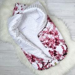 СуперМамкет. Конверт-одеяло всесезонное Мультикокон ®, сакура розовый вид 3