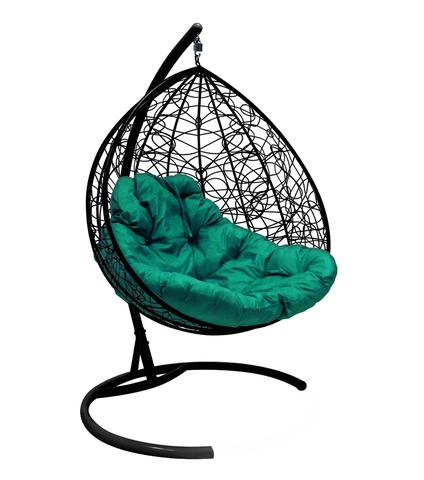 Кресло подвесное Lagos TWIN black/green