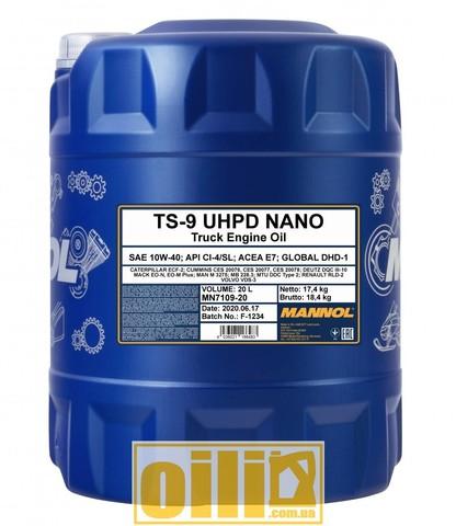Mannol 7109 TS-9 UHPD Nano 10W-40 20л