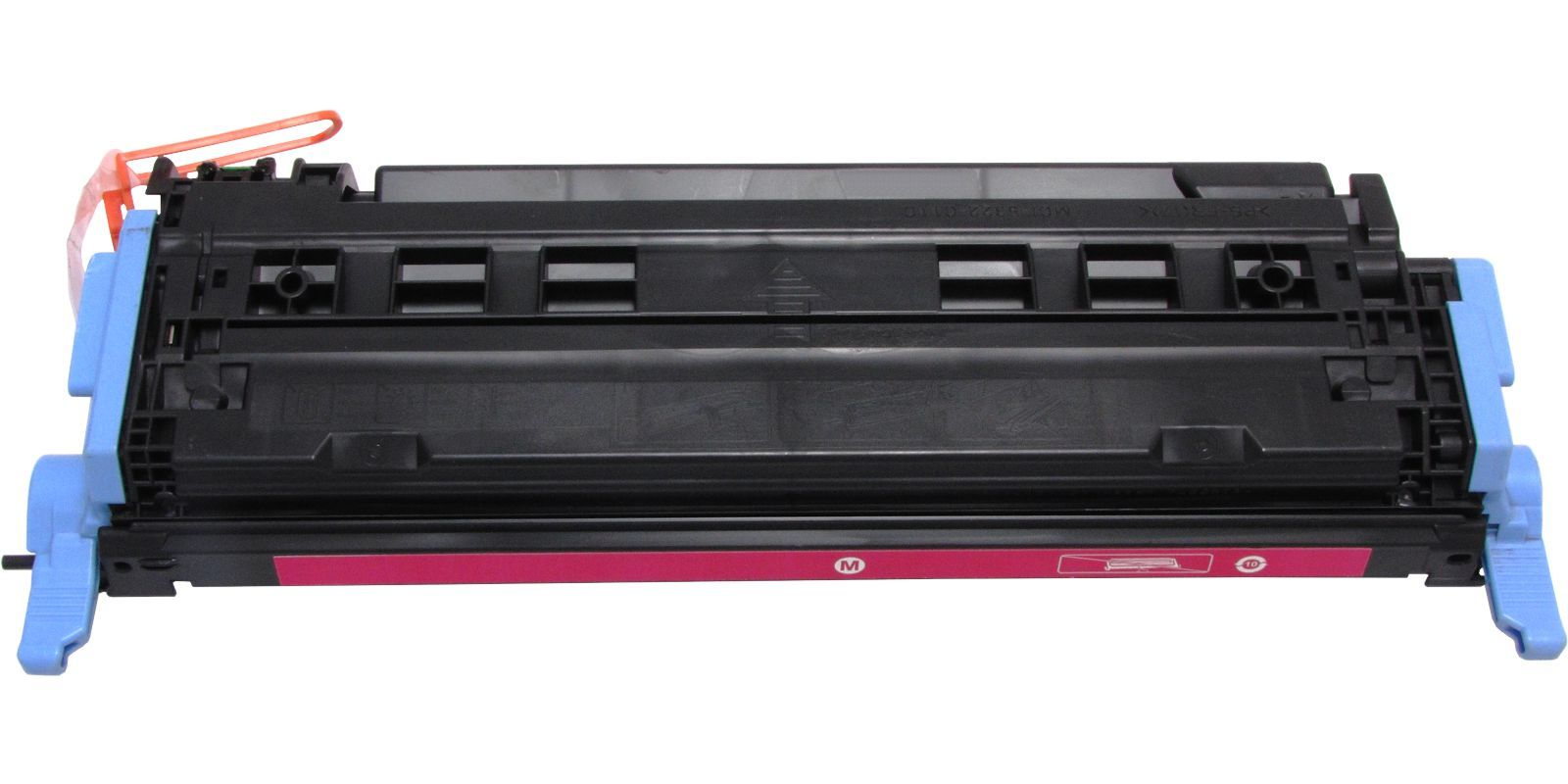 Картридж лазерный цветной MAK© 124A Q6003A CARTRIDGE-307/707/107 пурпурный (magenta).