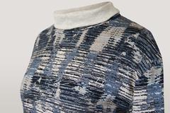 Блузка SunWear E03-56 хомут полоска