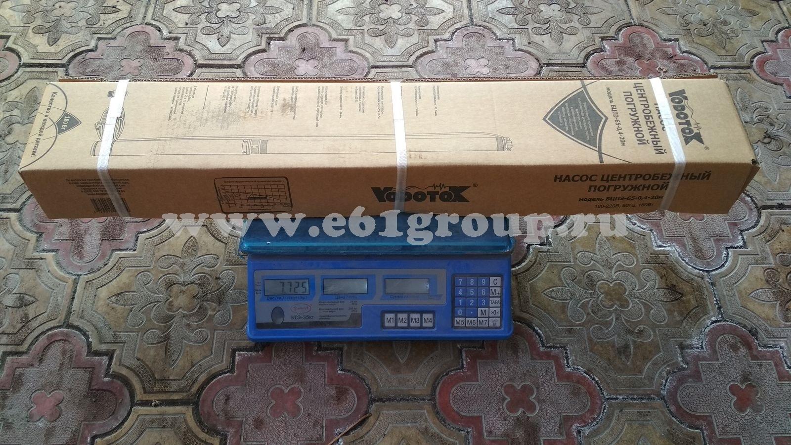 Насос скважинный Vodotok БЦПЭ-65-0,4-20м купить