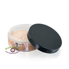 Пудра с куркумой и танакой, минеральная рассыпчатая (тон № 1,  розовый), HerbCare