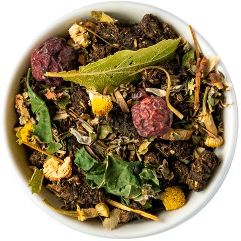 Травяной чай с иван-чаем, липой, ромашкой