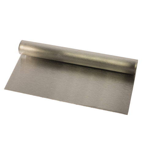 Шпатель металлический с ручкой(без разметки) 20*9см