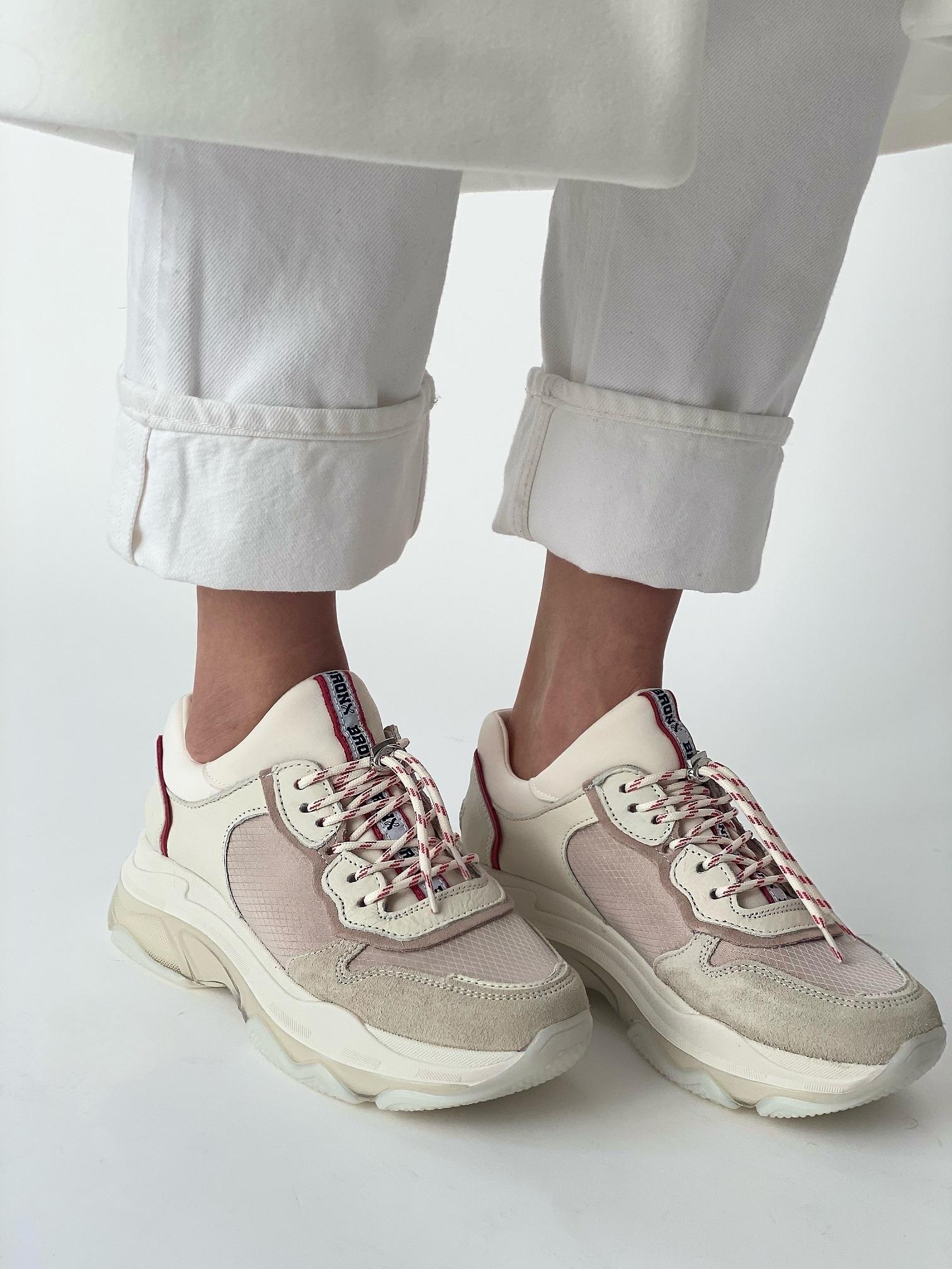 Кроссовки женские, BRONX, Baisley (белый)