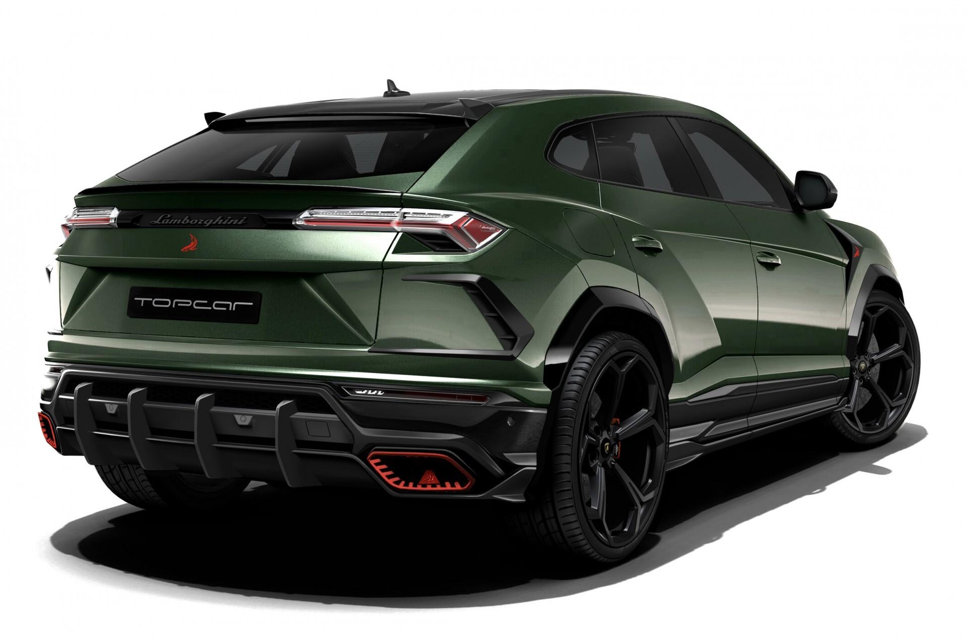 Обвес Topcar Design для Lamborghini URUS