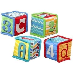 Bright Starts Мягкие кубики