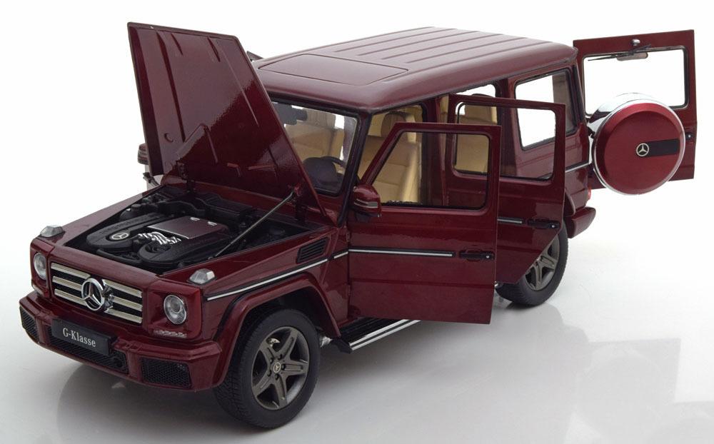 Коллекционная модель Mercedes-Benz Gelandewagen W463 2015 Thulit Red Metallic