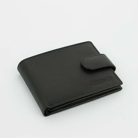 Портмоне S.Quire 4700-BK Soft черный наппа