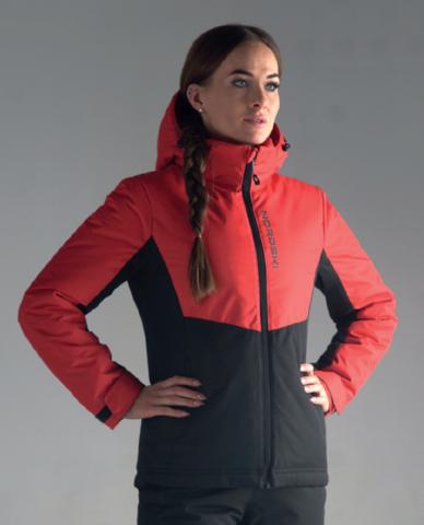 Утепленная куртка Nordski Montana Red/Black W женская