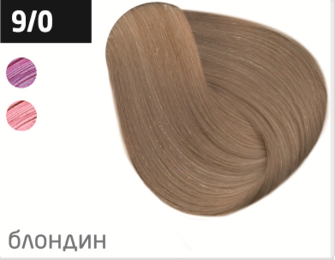 OLLIN silk touch 9/0 блондин натуральный 60мл безаммиачный стойкий краситель для волос