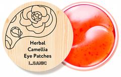 L.Sanic Herbal Патчи под глаза гирогелевые с экстрактом камелии