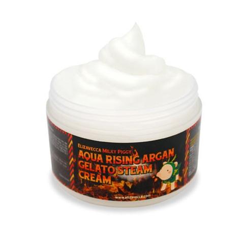 [Elizavecca] Крем для лица АРГАНОВОЕ МАСЛО Aqua Rising Argan Gelato Steam Cream, 100 гр
