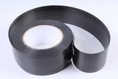 Лента простая (5см*50м) Гладкая без тиснения P513 Черный