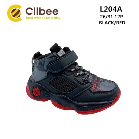 Clibee L204A Black/Red 26-31