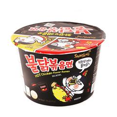 Лапша быстрого приготовления Samyang Hot Chicken Flavor Ramen со вкусом острой курицы 105 гр