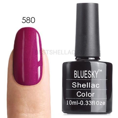 Bluesky Shellac 40501/80501 Гель-лак Bluesky № 40580/80580 Tango Passion, 10 мл 580.jpg