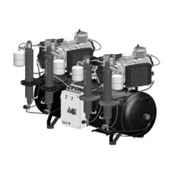 AC1200 безмаcляный компрессор (16 установок - 2х6 цилиндров) Cattani