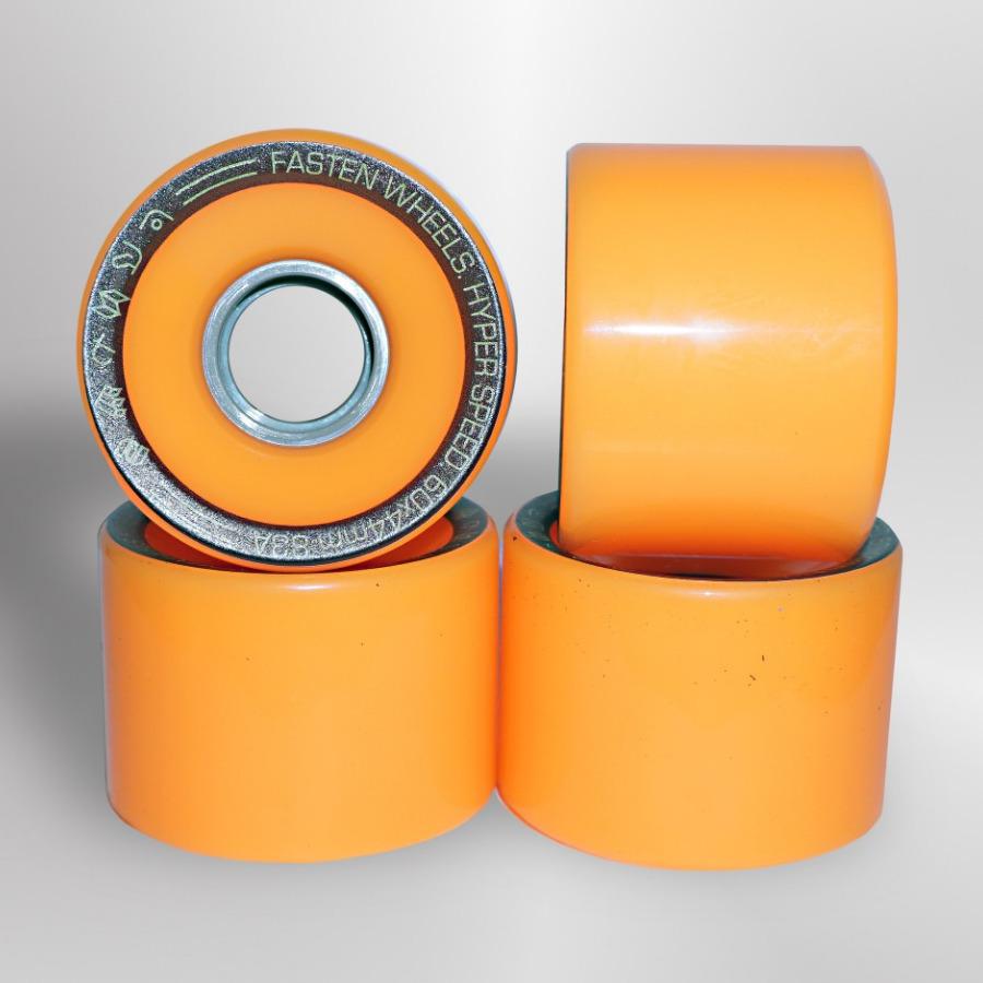 Колёса для скейтборда FASTEN Hyperspeed 83A (Orange)