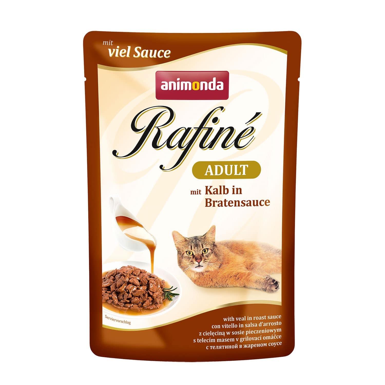 Animonda Rafine Soupe Adult с телятиной в жареном соусе