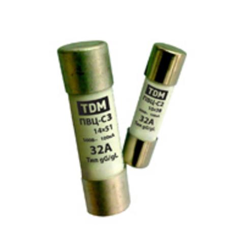 Плавкая вставка ПВЦ-С2 10х38 16А TDM