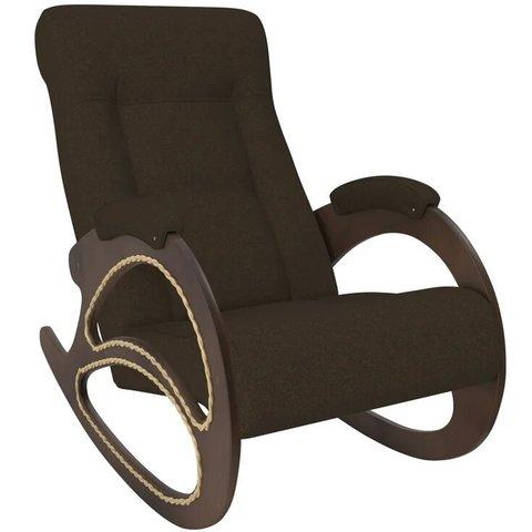 Кресло-качалка Комфорт Модель 4 орех/Malta 15