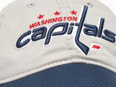 Бейсболка NHL Washington Capitals серая