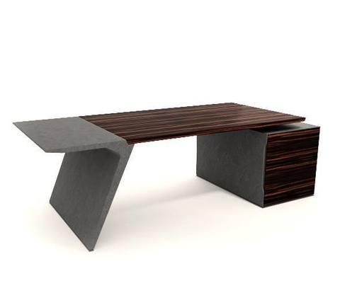 Pigreco стол на опорной длинной тумбе