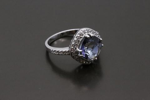 Серебряное кольцо с мистик аметистом 1405936135