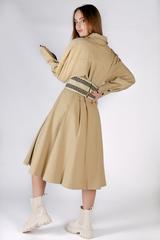 Джинсовое платье с поясом купить