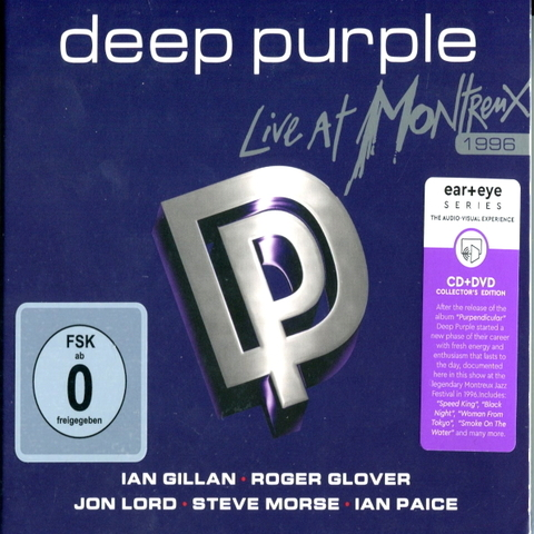 Deep Purple / Live At Montreux 1996 (CD+DVD)