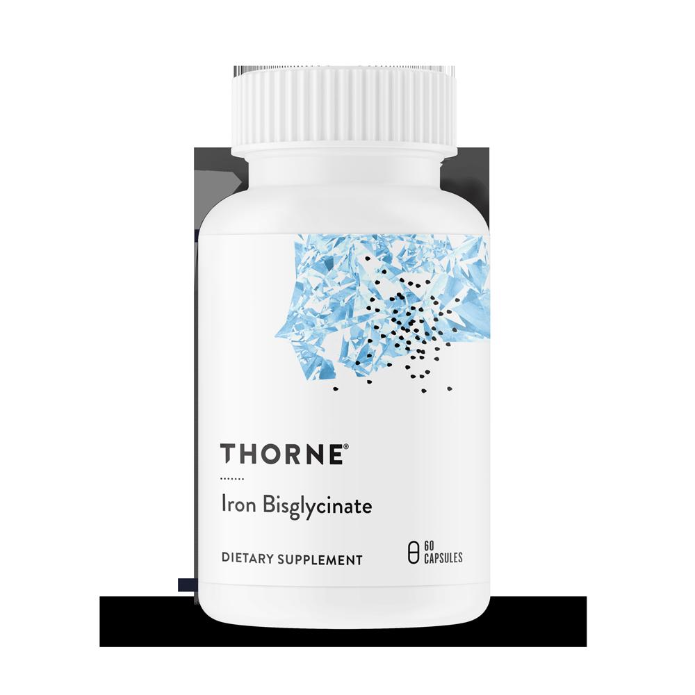 Бисглицинат железа, Iron Bisglycinate, Thorne Research (60 капсул)
