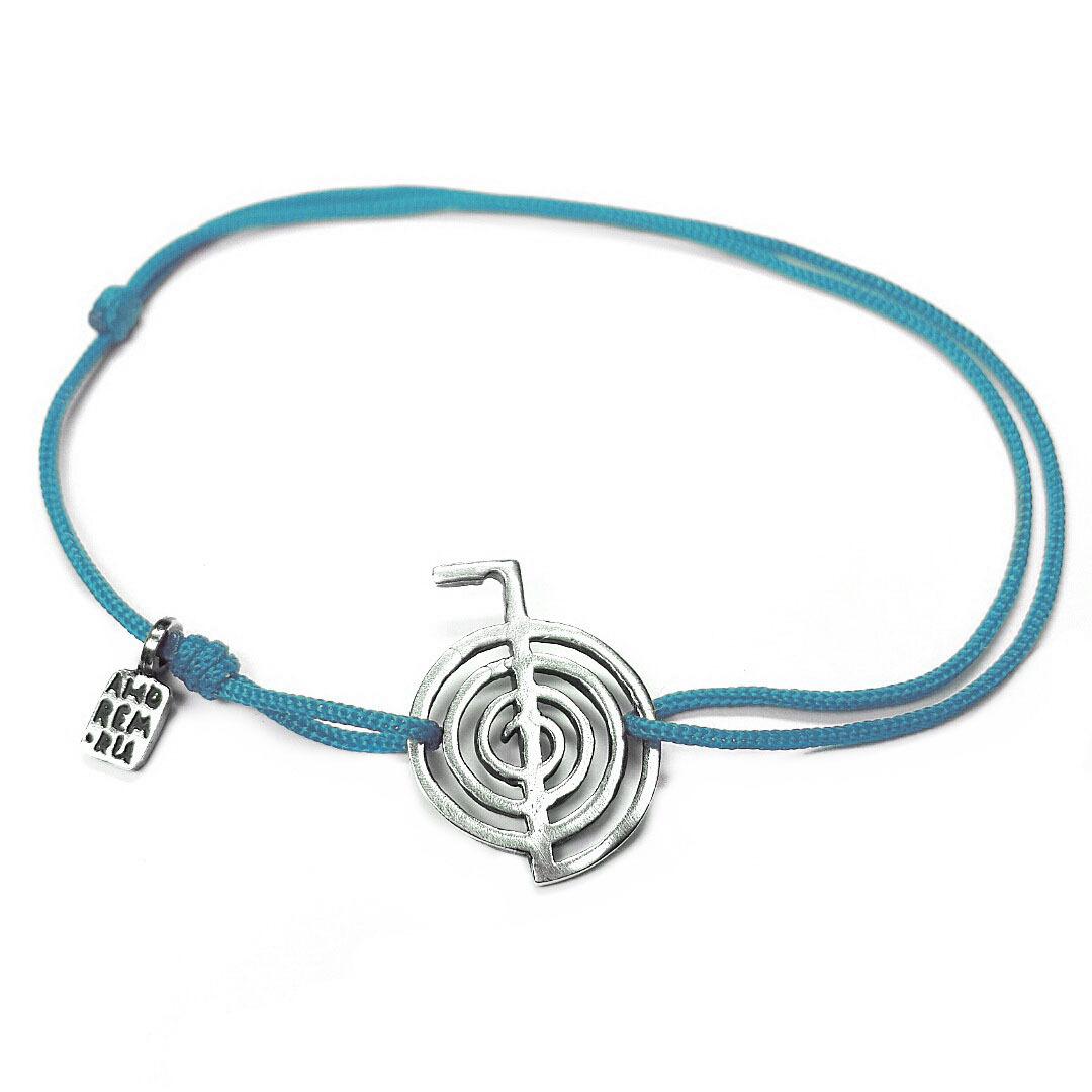 Cho Ku Rei bracelet, sterling silver charm