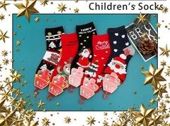 Носки детские новогодние (5 пар) арт.DА718 (разм  9-12)