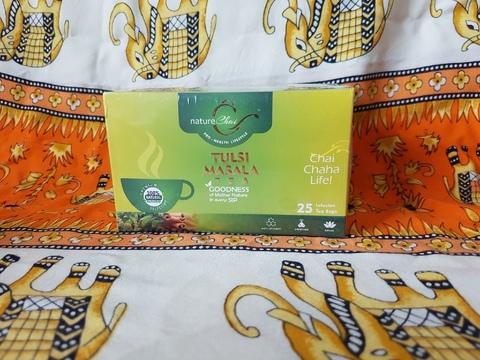 Чай аюрведический ТУЛСИ МАСАЛА (с базиликом и травами) 25 пак, PANCHAKARMA HERBS  (Индия)