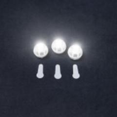 Светодиод мини для подсветки шара Белый/20 шт. Китай