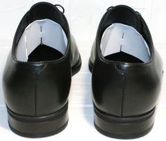 Обувь для офиса мужская Ikos 006-1 Black