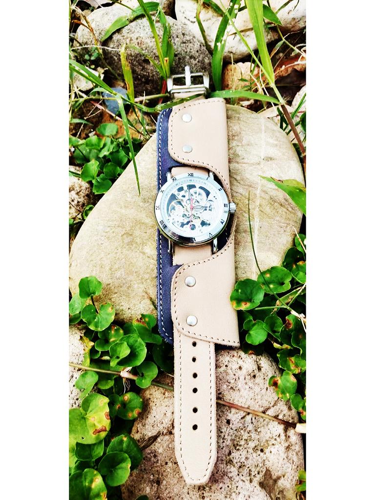 Часы скелетоны механические Martini YOURTIME