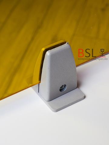 Экран на струбцинах с зажимом желтый прозрачный Ш. 1000мм