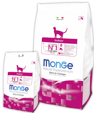 Сухой корм Monge Cat Adult Indoor