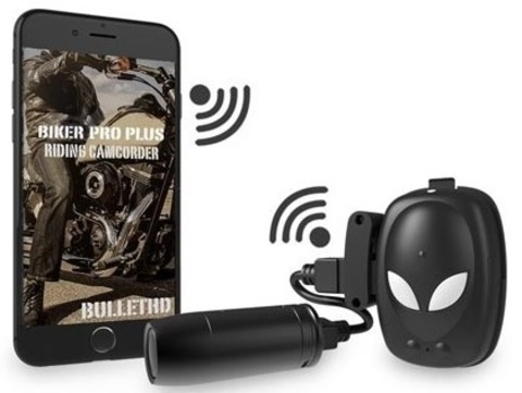 Видеорегистратор для мотоцикла Bullet HD Biker Pro Plus