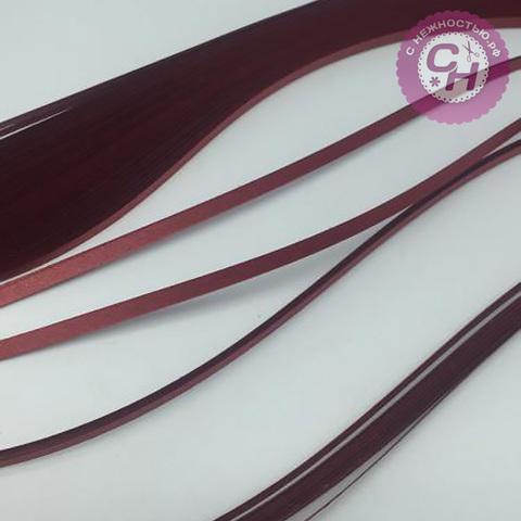 Бумага для квиллинга, оттенки МЕТАЛЛИК, 3 мм*30 см * 100 листов, 120гр/м2.