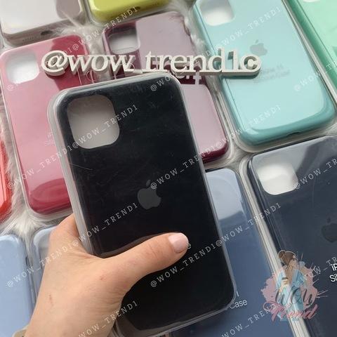 iPhone 11 Pro Max Silicone Case Full /black/